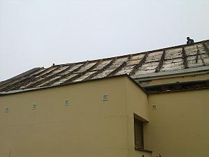 Odvetranie pultovej strechy
